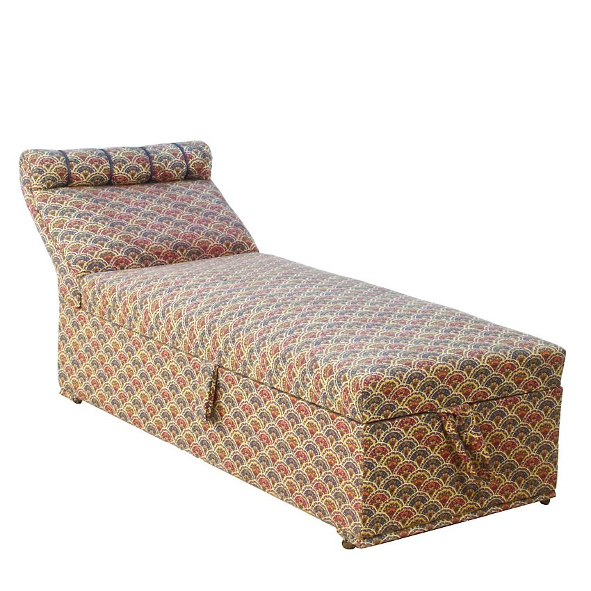 Original art deco ladies childs bedroom boudoir box chaise for Chaise longue day bed