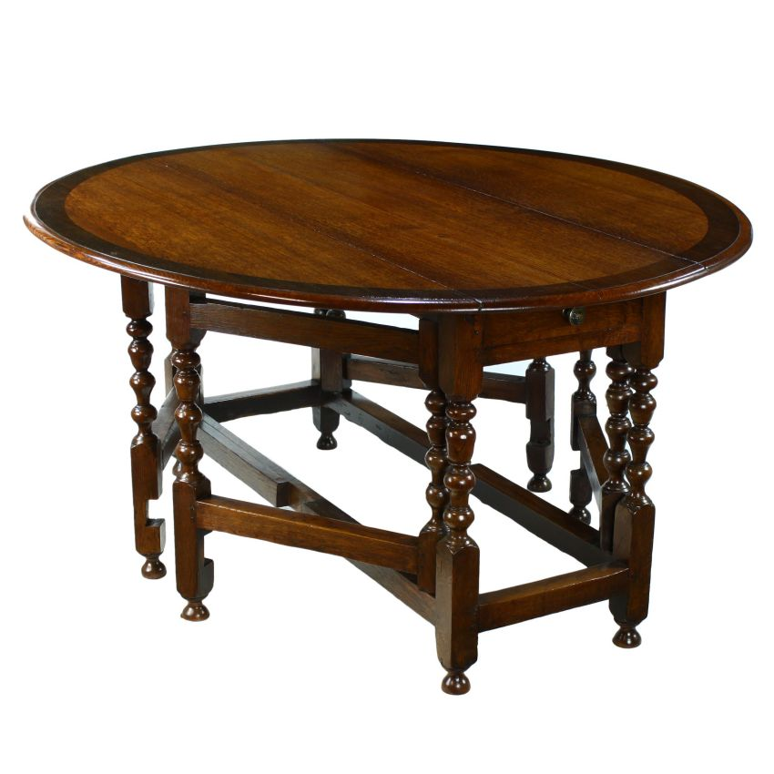 Drop leaf oak dining table antique oak drop leaf dining for Drop leaf dining table