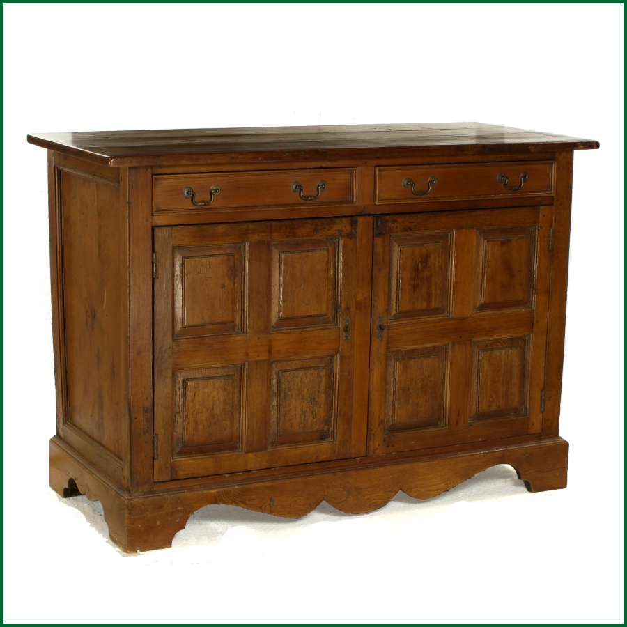 Reclaimed upcycled rustic french country pine sideboard for Sideboard pinie